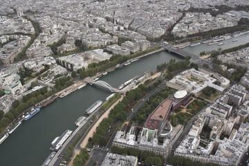 Paryż - widok z Wieży Eiffla 2
