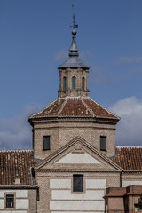 belfry,Cerro de los Angeles is located in the municipality of Ge