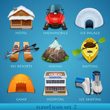 Travel icon set-2