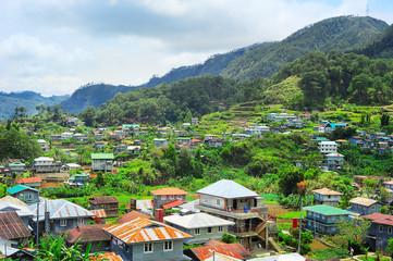 Sagada village skyline