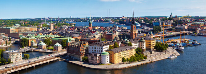 Stockholm city in Sweden