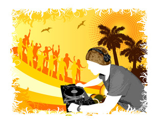 Dj beach party