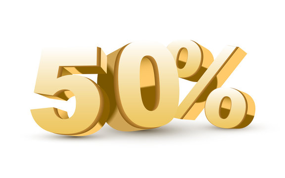 3d shiny golden discount collection - 50 percent
