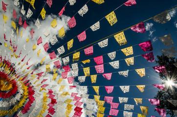 Mexican church festons
