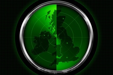 British Isles on the Radar