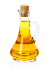 jar, decanter with olive or sunflower oil