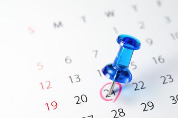 Mark the calendar.