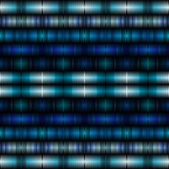 Geometrical shapes blue background