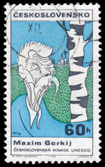 CZECHOSLOVAKIA - CIRCA 1968: A stamp printed in the Czechoslovak