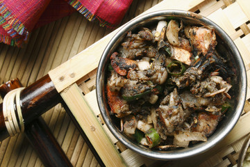 Misa Mach Poora - Grilled Shrimps is a special sea food from Ind