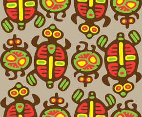 Morrisseau's Turtles