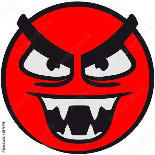 Quot B 246 Ses W 252 Tendes Teufel Monster Comic Smiley Quot Stockfotos