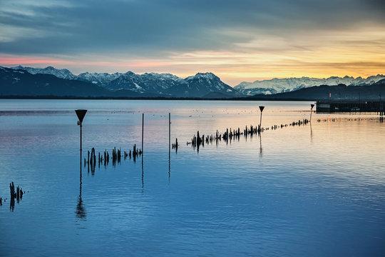 lake constance night