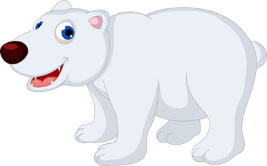 funny polar bear cartoon