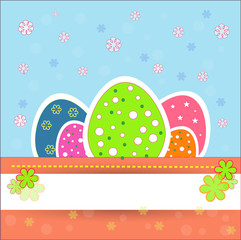 Pretty and  nice easter eggs