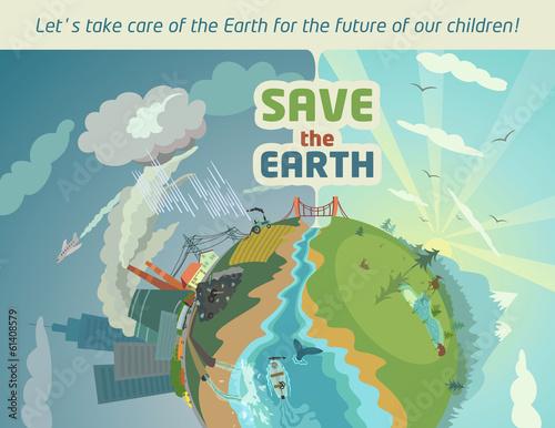 saving earth for future generation
