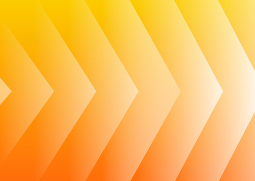 Abstract yellow arrows background