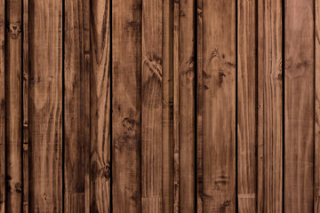 Wall Mural - Grunge old wood panels for background