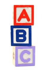 ABC toy block