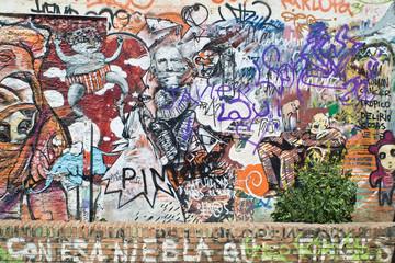fusion de grafitis