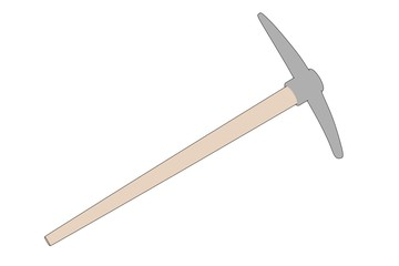 cartoon image of pickaxe tool