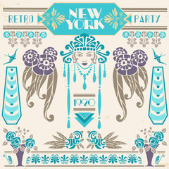 New York Retro Party 1920