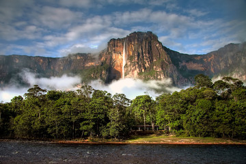 Wall Murals South America Country Angel Falls in the morning light