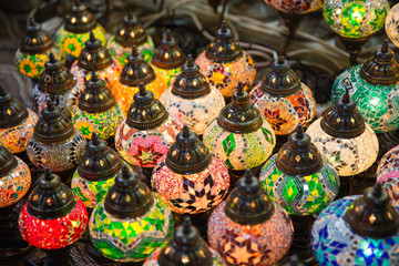 Traditional arabic lamps