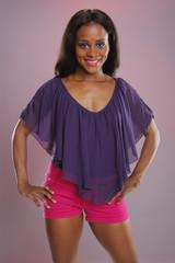 Cute caribbean girl