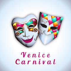 Venice Carnival - Vector illustration