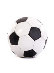 Football ball isolated on a white background. Soccer ball