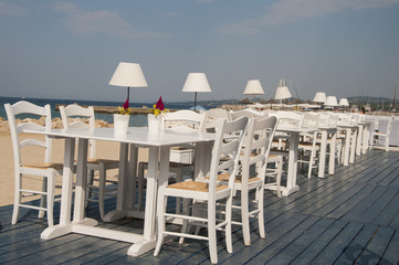 Traditional Greek tavern