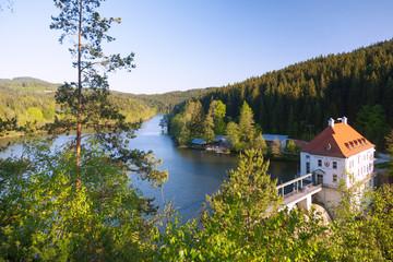 Fotomurales - Bayerischer Wald, Viechtach, Höllensteinsee