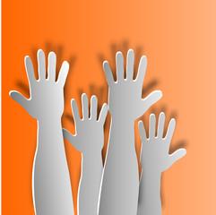 Hände noch oben halten