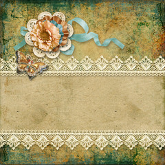 Grunge beautiful vintage background