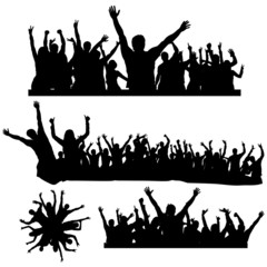 dancing crowds