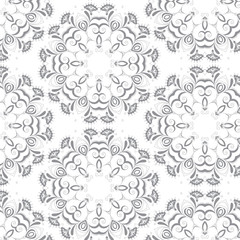 Abstract background. Ornamental vector pattern