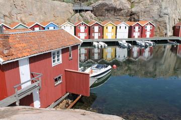 Smögen Fischerhäuser
