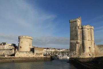 Tours médiévales de la Rochelle