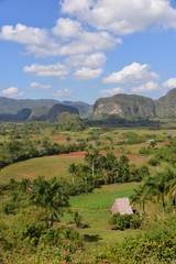 View over valley of Vinales in Cuba