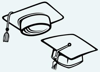 Student accessories. Graduation cap