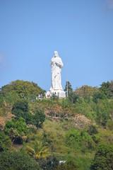 Christ statue in Habana, Cuba
