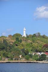 Christ statue in Havana, Cuba