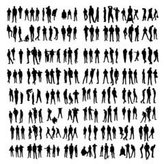 Two hundred Model Silhouettes of men. Part 2.