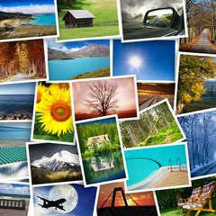 cartoline turismo collage