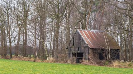 Old abandoned shed