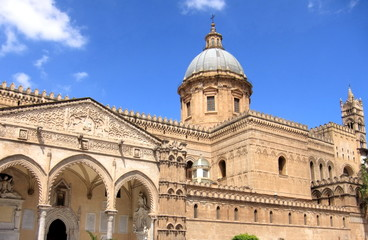 Foto op Canvas Palermo landmark church of Palermo, Sicily