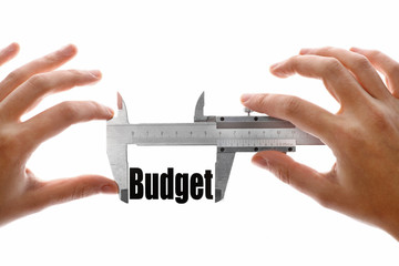 The size of our budget