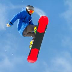 Wall Mural - evoluzione con snowboard