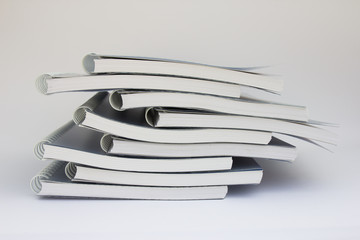 Stack of notebook